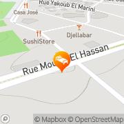 Map Dellarosa Hotel Suites & Spa Marrakech, Morocco