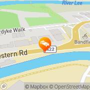Map Aban Apartments Cork, Ireland