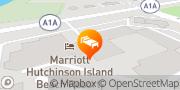 Map Marriott Hutchinson Island Beach Resort, Golf & Marina Stuart, United States