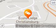Map Econo Lodge Christiansburg - Blacksburg I-81 Christiansburg, United States
