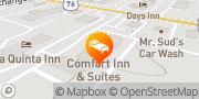Map Comfort Inn & Suites Ft.Jackson Maingate Columbia, United States