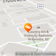 Map Rodeway Inn Millennium - Closed Greenville, United States