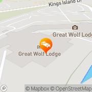 Map Great Wolf Lodge Mason, United States