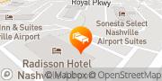 Map Radisson Hotel Nashville Airport Nashville, United States