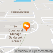 Map Courtyard Chigago by Marriott Oakbrook Terrace Oakbrook Terrace, United States