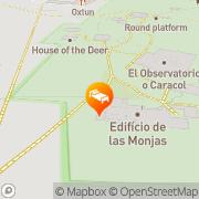 Map Mayaland Hotel & Bungalows Chichen Itza, Mexico