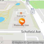 Map Comfort Suites - Closed Stevens Point, United States