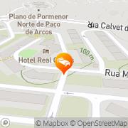 Map Hotel Real Oeiras Oeiras, Portugal