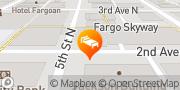 Map Radisson Hotel Fargo Fargo, United States