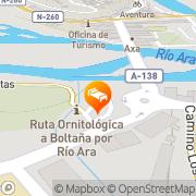 Map Hotel Meson de L'Ainsa Aínsa, Spain
