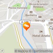 Map Hotel Llibrada Benasque, Spain