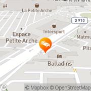 Carte de Hôtel Balladins Tours Nord Tours, France