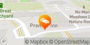 Map Premier Inn Bury St Edmunds Town Centre Bury St. Edmunds, United Kingdom