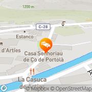 Map Hotel Casa Irene Artiés, Spain