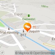 Map Hotel Saurat Espot, Spain