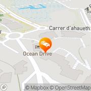 Map Hotel Ocean Drive Talamanca, Spain