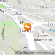 Map Hotel Font La Massana, Andorra