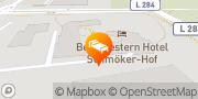 Karte Best Western Hotel Schmoeker-Hof Norderstedt, Deutschland
