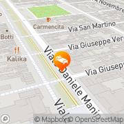 Map Hotel Liberty Viareggio, Italy