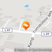 Karte Landhaus Hammoor Hammoor, Deutschland