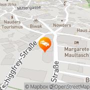 Karte Tirolerhof  Beauty&Sport Nauders, Österreich