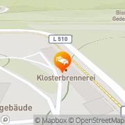 Karte Hotel im Kloster Wöltingerode Vienenburg, Deutschland