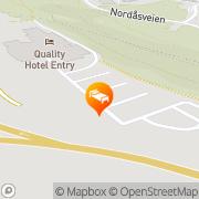 Map Quality Hotel Mastemyr Kolbotn, Norway