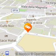 Map Hotel Olivo Arco, Italy