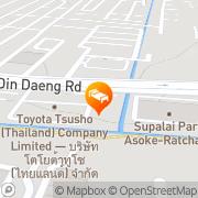 Map Hi Residence Bangkok, Thailand