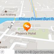 Map Lilac Relax-Residence Bangkok, Thailand