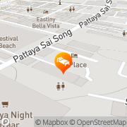 Map Golden Beach Hotel Pattaya Pattaya, Thailand