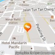 Map Alamanda Hotel Petaling Street Kuala Lumpur, Malaysia