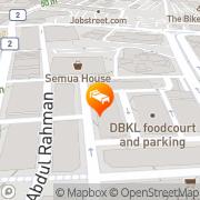 Map StarPoints Hotel Kuala Lumpur Kuala Lumpur, Malaysia