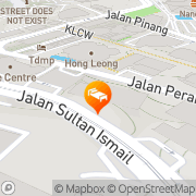 Map Hotel Equatorial Kuala Lumpur Kuala Lumpur, Malaysia