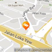 Map Phoenix Hotel Kuala Lumpur, Malaysia