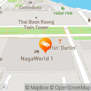 Map NagaWorld Hotel & Entertainment Complex Phnom Penh, Cambodia