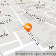 Map Maison D'hanoi Hanova Hotel Hanoi, Vietnam
