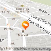 Map Green Street Hotel Hanoi, Vietnam