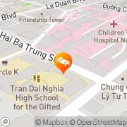 Map Bongsen Annex Hotel Xóm Chiếu, Vietnam
