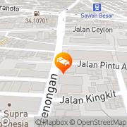 Map REDTOP Hotel Jakarta Jakarta, Indonesia