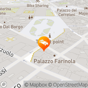 Map Hotel Roma Florence, Italy