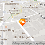 Map Hotel Serena Florence, Italy