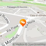 Map Bed & Breakfast Camollia Siena, Italy