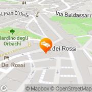 Map B&B San Francesco Siena, Italy
