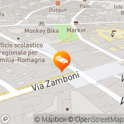 Map Casa Ilaria Bologna, Italy