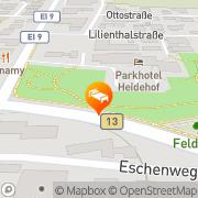 Karte Parkhotel Heidehof Gaimersheim, Deutschland
