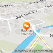 Karte Hohenester Gasthaus & Hotel Markt Indersdorf, Deutschland