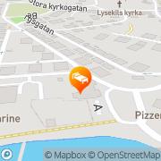 Karta Strand Jugenherberge & Küsthotel Lysekil, Sverige