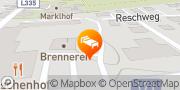 Karte Der Reschenhof Mils bei Solbad Hall, Österreich