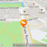 Map Hotel Campo Marzio Vicenza, Italy